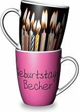 La Vida Becher - Geburtstags-Becher (9502371)