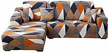 laamei Sofabezug L-Form Sofa Überwürfe Stretch