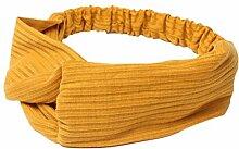 LAAT Bandeau Strick Mehrfarbig Haarband Schleife
