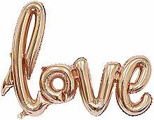 LAAT Love Ballon Banner Feier Ballon Hochzeit