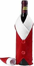 LAAT Weihnachten Wein Flasche Anzug Flaschenhülle