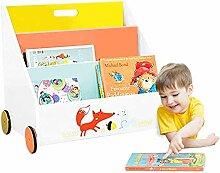 labebe - Bücherregal Kinder, Regal Kinderzimmer