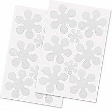 LABOTA 16PCS Anti-Rutsch-Sticker, Durchsichtige