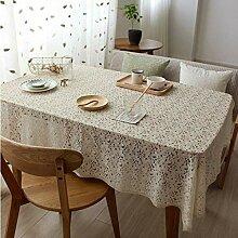 Lace Tischdecke Perforieren Blumen Rechteckige