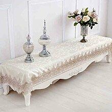Lace Tischdecken Tuch Tischläufer europäischen TV-Schrank Tuchtischdecken bedecken Couchtisch Tischsets ( größe : 75*180cm )