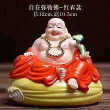 Lachender Buddha Statue Für Glück, Reichtum Und