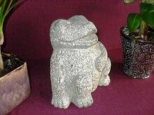 Lachender Frosch aus Granit - Frog Steinfrosch