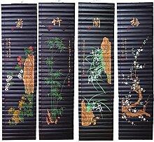 lachineuse 4 Farben auf Bambus