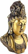 Lachineuse Buddha Büste Guanyin, traditionell