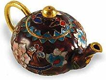 lachineuse Teekanne Miniatur Dekoration –