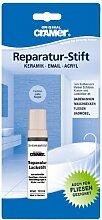 Lackstift für Sanitär (bahamabeige). Einkomponenten-Speziallack für Kratzer und Lackfehler im Haushal