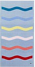 Lacoste Kane Strandtuch, 100 % Baumwolle, 91,4 cm