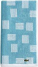 Lacoste Raster Handtuch, 100 % Baumwolle, 40,6 x