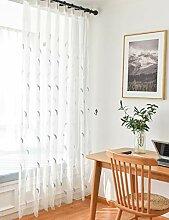 Lactraum Gardinen Schlafzimmer lang mit Ösen