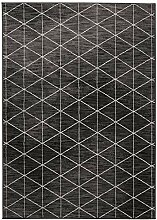 Ladeco Scandi Nordic Flachgewebe Design Teppich