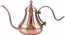 Ladieshow Kupfer beschichtete Vintage Kaffeekessel
