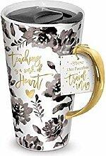 Lady Jayne 15910 One Travel Mug, 13 oz, Multicolor