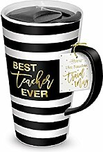Lady Jayne 15911 One Travel Mug, 13 oz, Black,
