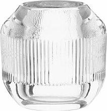 Lämpchen aus gerilltem Glas