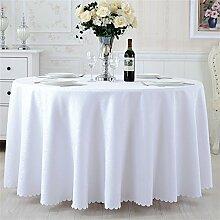 Ländliche Runde Tisch Tisch Stoff Tisch Hotel Tischdecke Restaurant Große Runde Tischdecke Kaffeetisch Bankett Hochzeit Platz Tischtuch ( farbe : # 2 , größe : 200cm )