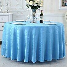 Ländliche Runde Tisch Tisch Stoff Tisch Hotel Tischdecke Restaurant Große Runde Tischdecke Kaffeetisch Bankett Hochzeit Platz Tischtuch ( farbe : # 2 , größe : 220cm )