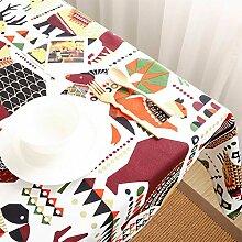 Ländliche Tischdecke/Der Stil Der Wasserdichte Tischdecken/Tisch Tischdecke-C 90x140cm(35x55inch)