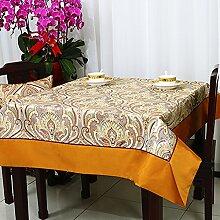Ländliche tischdecke/tischtuch/tischtuch/tee tischdecke/quadratische tischdecke/tuch tischtuch-B 150x210cm(59x83inch)
