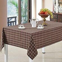Ländlichen Haushalt Stoff/Tischdecken/ Baumwolle karierten Tischdecken/Tischdecken/Tischdecke decke/ decken Handtücher/Tischdecke decke-E 90x90cm(35x35inch)