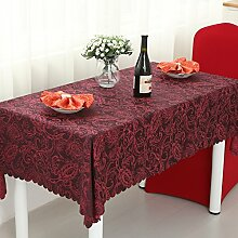 längliche Tischdecke/Continental Restaurant