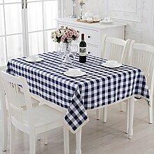 Längliche Tischdecke,Tuch Wohnzimmer Esstisch Tischdecke,Tischdecke Picknick Tuch,Pastorale Kaffee/Tee Tischdecke-C 90x90cm(35x35inch)