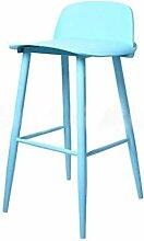 Lässige einfach Stuhl, Nordic Stil Modern Eisen