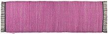 Läufer purple Cotton Colors UNI, Größe:60 x 120 cm