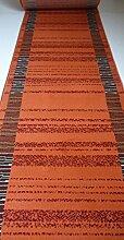 Läufer Teppich auf Maß Terrakotta 8230 lfm. 19,90 Euro Breite 100 x 760 cm