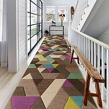 Läufer Teppich Flur Geometrische Läufer Teppich