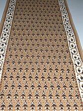 Läufer Teppich Meterware Mir Design Beige lfm. 16,90 Euro Breite 100 x 260 cm