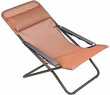 Lafuma Liegestuhl, Klappbar und verstellbar,
