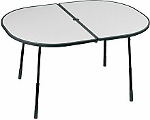 Lafuma Ovaler Gartentisch, Klappbar,