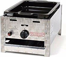 LAG Gasbräter 4 kW mit emaill.Stahlpfanne