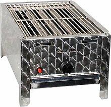LAG Gasgrill 1-flammig 4 kW mit Grillrost, Grill, Gastrobräter, Profigrill Verein