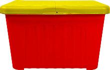 Lagerbox Aufbewahrungsbox Pandorino gelb-rot