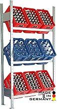Lagerknecht Getränkekistenregal 9 Kisten Made in