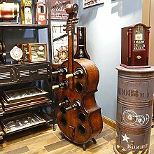Lagerungsrack Holz Kreative Cello Weinregal Große