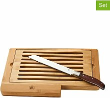 Laguiole - 2tlg. Set: Schneidebrett mit Messer in