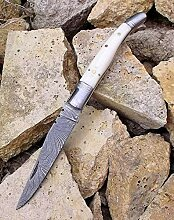 laguiole artisan 5142 White Horn Bone Camping
