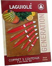 LAGUIOLE - Box mit 5 Messern - -