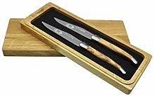 Laguiole en Aubrac L Uxury Steakmesser, komplett