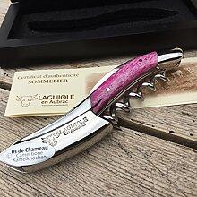 Laguiole en Aubrac Sommelier Kellnermesser SOM99OKI Os de Chameau Kamelknochen