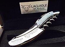 Laguiole en Aubrac Sommelier Kellnermesser SOM99PGI Paillete Argen