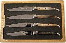 Laguiole en Aubrac Steakmesser-Set, gemischte