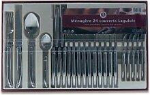 Laguiole Production - 402010 - 24 Stück Besteck -